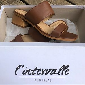 L'intervalle Leather Sandals
